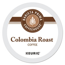Barista Prima Coffeehouse® Colombia K-Cups Coffee Pack, 24/Box