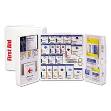 First Aid Only™ ANSI 2015 SmartCompliance First Aid Station Class A+, 50 People, 241 Pieces