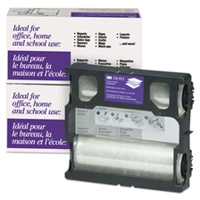 3M™ Glossy Refill Rolls for Heat-Free Laminating Machines,100 ft.