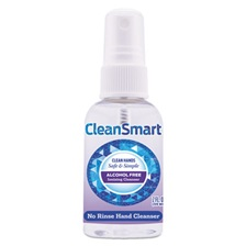 CleanSmart™ Antimicrobial Hand Cleanser Spray, 2 oz Spray Bottle, 9/Carton