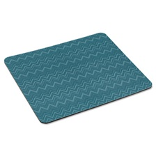 "3M™ Mouse Pad with Precise Mousing Surface, 9"" x 8"" x 1/5"", Chevron Design"