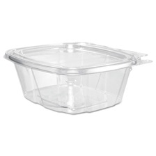 Dart® ClearPac Container, 4.9 x 2.5 x 5.5, 16 oz, Clear, 200/Carton