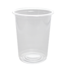 1000cc (34oz) Clear PP Cups, 116mm