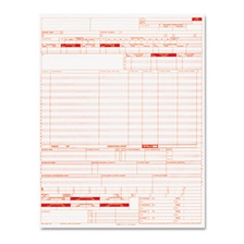 Paris Corporation UB04 Insurance Claim Form, 8 1/2 x 11, 2500 Forms