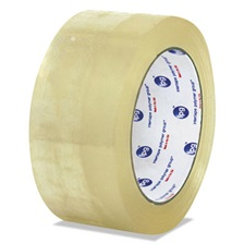 General Supply General-Purpose Box Sealing Tape, 72mm x 100m, Clear, 24/Carton