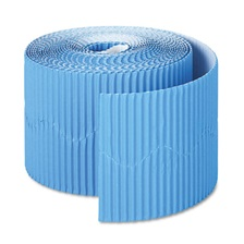 "Pacon® Bordette Decorative Border, 2 1/4"" x 50' Roll, Brite Blue"