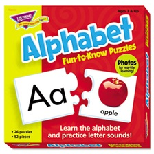 TREND® Fun to Know Puzzles, Alphabet