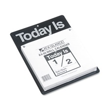 "AT-A-GLANCE® ""Today Is"" Wall Calendar, 9 3/8 x 12, White, 2018"