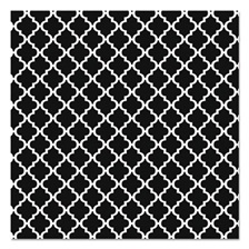 "Pacon® Fadeless Designs Bulletin Board Paper, Classic Moroccan Black, 48"" x 50 ft."