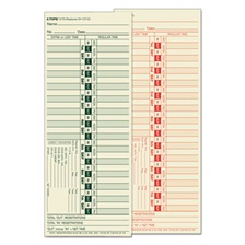 TOPS™ Time Card for Lathem, Bi-Weekly, Two-Sided, 3 1/2 x 9, 500/Box