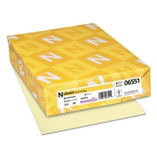Neenah Paper CLASSIC Laid Writing Paper, 24lb, 8 1/2 x 11, Baronial Ivory, 500 Sheets