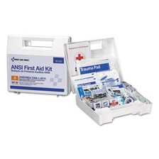 First Aid Only™ ANSI 2015 Compliant Class A Type I & II First Aid Kit for 25 People, 89 Pieces