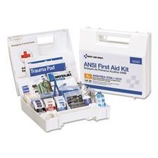 First Aid Only™ ANSI 2015 Compliant Class A+ Type I & II First Aid Kit for 25 People, 141 Pieces