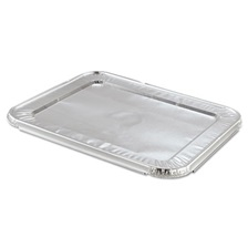 Handi-Foil of America® Steam Table Pan Foil Lid, Fits Half-Size Pan, 12 13/16 x 10 7/16, 100/Carton