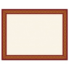 Geographics® Award Certificates, Burgundy/Gold, 8 1/2 x 11, Gold Border, 15/Pack