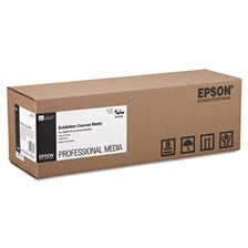 "Epson® Exhibition Canvas Matte, 17"" x 40 ft. Roll"
