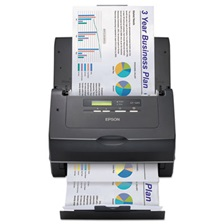 Epson® WorkForce Pro GT-S85 Scanner, 600 x 600 dpi, 75 Sheet Automatic Document Feeder