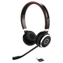 Jabra EVOLVE 65 UC Binaural Over-the-Head Headset