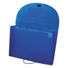 C-Line® Specialty Expanding Files, Letter, 7-Pocket, Blue