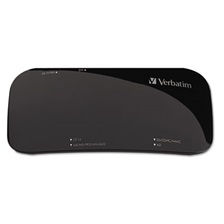 Verbatim® Universal Card Reader, USB 2.0, Black, Windows/Mac