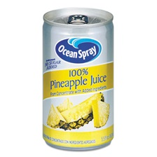 Ocean Spray® 100% Juice, Pineapple, 5.5 oz Can