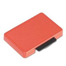 Identity Group T5440 Dater Replacement Ink Pad, 1 1/8 x 2, Red