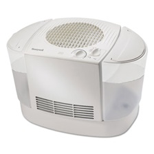 Honeywell Console Top Fill Humidifier, White, 20 1/2w x 13 1/2d x 11 1/2h