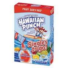 Hawaiian Punch® Drink Mix Singles, Fruit Juicy Red, 0.75 oz Stick, 96 sticks