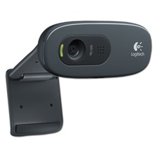 Logitech® C270 HD Webcam, 720p, Black