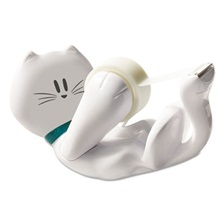 "Scotch® Kitty Tape Dispenser, 1"" Core for 1/2"" and 3/4"" Tapes"