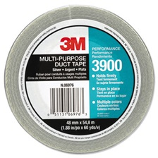 3M™ Multi-Purpose Duct Tape 3900, General Maintenance, 48mm x 54.8m, Silver