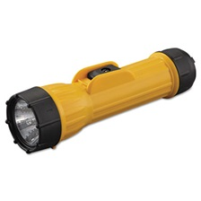 Bright Star® Industrial Heavy-Duty Flashlight, 2D (Sold Separately), Yellow/Black