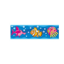 "TREND® Bolder Borders, 11 panels, 2 3/4"" x 39"", Sea Buddies"