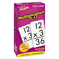 TREND® Skill Drill Flash Cards, 3 x 6, Multiplication