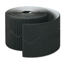 "Pacon® Bordette Decorative Border, 2 1/4"" x 50' Roll, Black"
