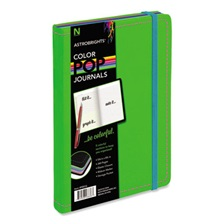 Astrobrights® ColorPop Journal, College Ruled, 8 1/4 x 5 1/8, Green, 240 Sheets