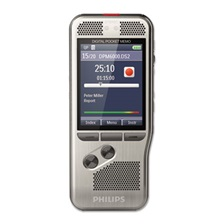 Philips® Pocket Memo 6000 Digital Recorder with Push Button Operation, 4 GB Memory