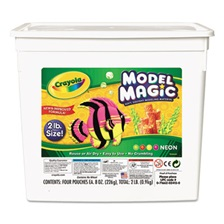 Crayola® Model Magic Modeling Compound, 8 oz each/Neon, 2 lbs.