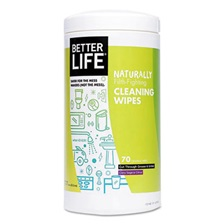 Better Life® Naturally Filth-Fighting All Purpose Wipes, Clary Sage & Citrus, 70/Canister