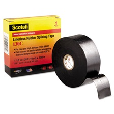 "3M™ Scotch 130C Linerless Splicing Tape, 1 1/2"" x 30ft"