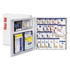 First Aid Only™ ANSI 2015 SmartCompliance Food Service Kit, w/o Medication, 50 People, 260 Piece
