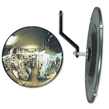 "See All® 160 degree Convex Security Mirror, 12"" dia."