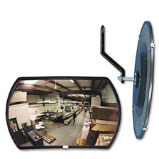 "See All® 160 degree Convex Security Mirror, 18w x 12"" h"