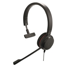 Jabra EVOLVE 20 UC Monaural Over-the-Head Headset