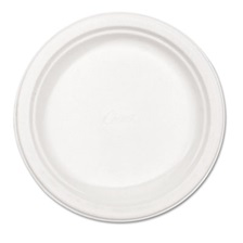 "Chinet® Classic Paper Plates, 8 3/4"" dia, White, 125/Pack"