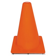 3M™ Non-Reflective Safety Cone, 9 x 9 x 12, Orange