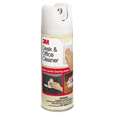 3M™ Desk & Office Spray Cleaner, 15oz Aerosol, 12/Carton