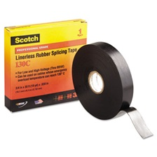 3M™ Scotch 130C Linerless Splicing Tape, 3/4' x 30ft