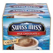 Swiss Miss® Hot Cocoa Mix, Regular, 0.73 oz. Packets,  50 Packets/Box