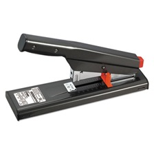 Bostitch® Antimicrobial 130-Sheet Heavy-Duty Stapler, 130-Sheet Capacity, Black